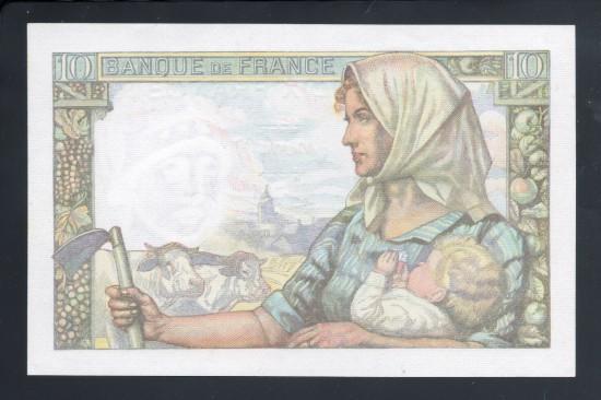 外鈔 FRANCS $10B